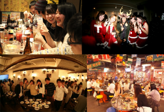 アネロクリスマスパーティーin名古屋栄